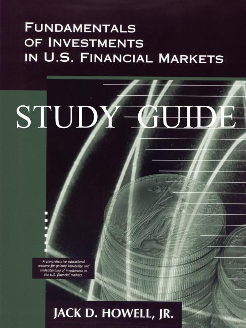 Fundamentals of Investments in U.S. Financial Markets - Study Guide als Taschenbuch