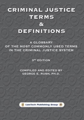 Criminal Justice Terms & Definitions als eBook ...