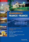 Reiseatlas Frankreich 1:300 000