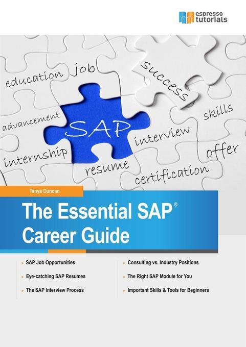 The Essential SAP Career Guide als Buch von Tan...