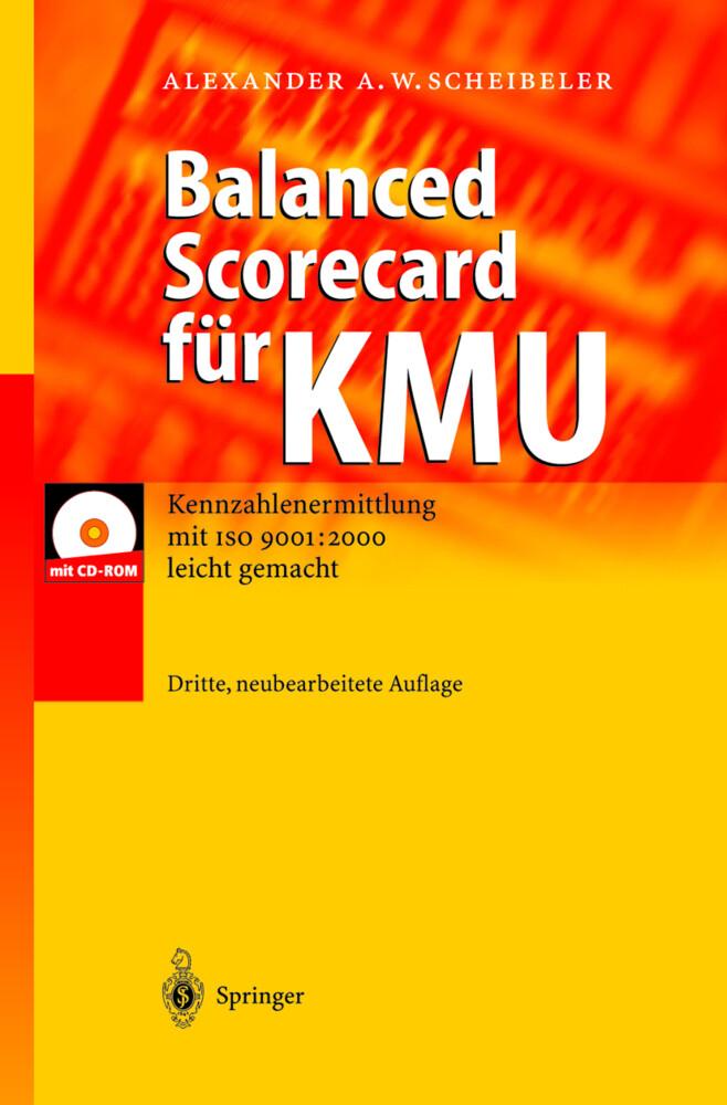 Balanced Scorecard für KMU als Buch