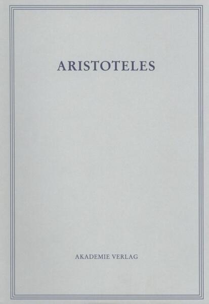 Werke in deutscher Übersetzung 10/II. Oikonomika als Buch
