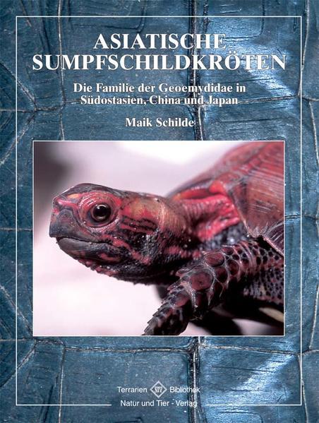Asiatische Sumpfschildkröte als Buch
