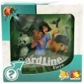 Asmodee 002879 - Cardline Tiere, Reisespiel in Metallbox
