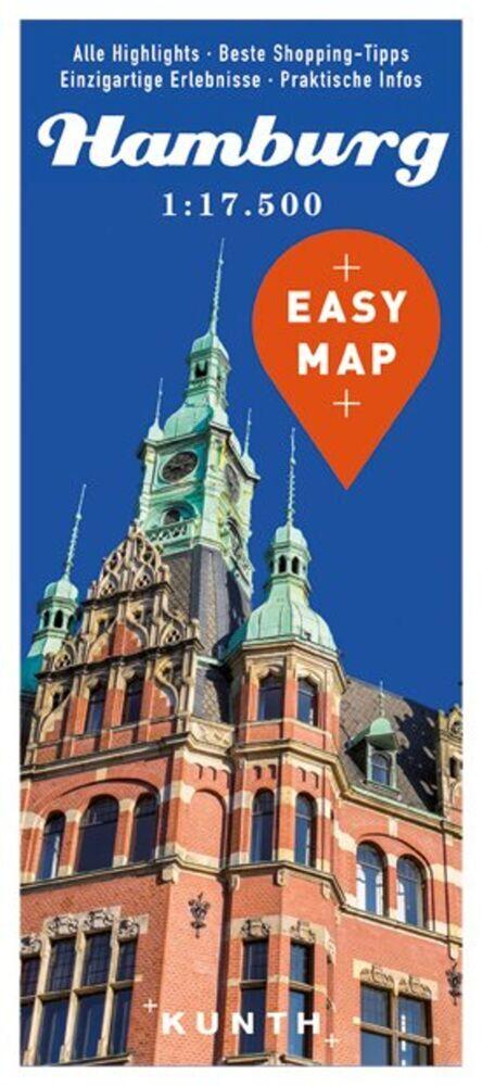 EASY MAP Deutschland/Europa Hamburg 1 : 17 500 ...