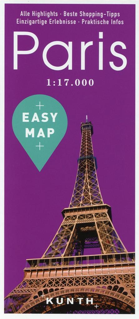 EASY MAP Deutschland/Europa Paris als Buch von