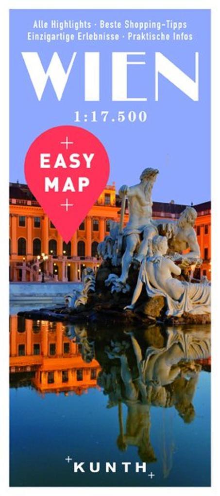 EASY MAP Deutschland/Europa Wien 1 : 17 500 als...