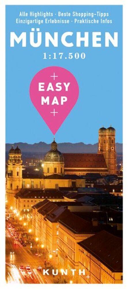 EASY MAP Deutschland/Europa München als Buch von