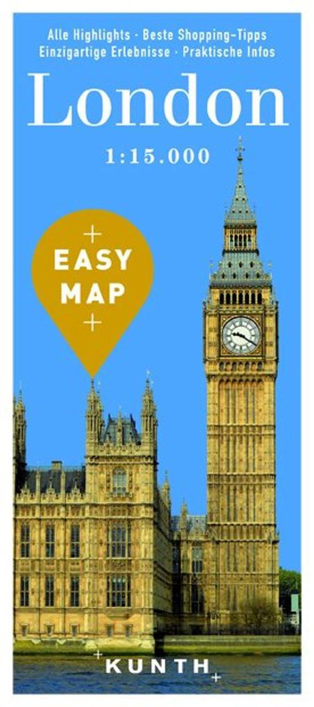 EASY MAP Europa LONDON als Buch von