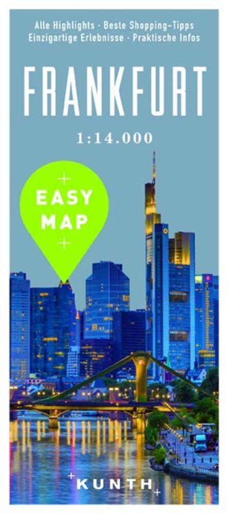 EASY MAP Deutschland/Europa Frankfurt als Buch von
