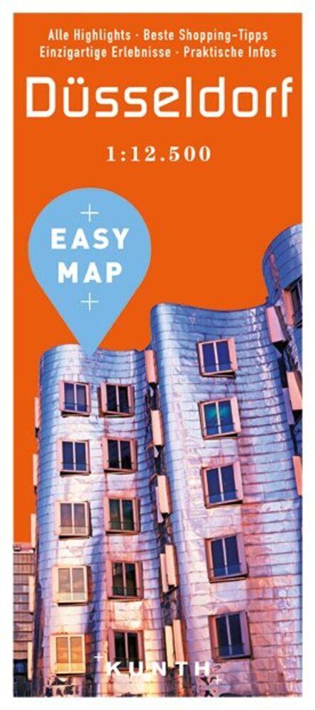 EASY MAP Deutschland/Europa Düsseldorf als Buch...