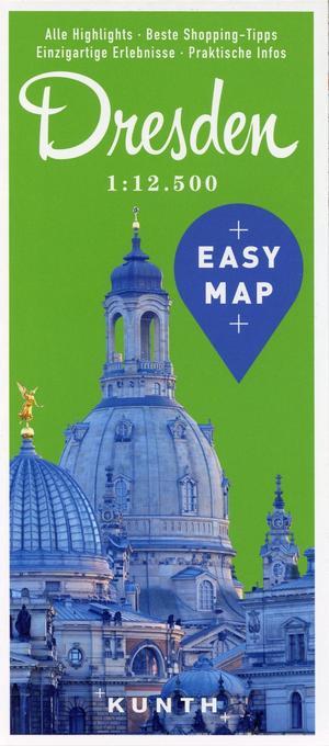 EASY MAP Deutschland/Europa Dresden als Buch von