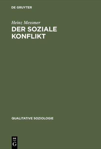 Der soziale Konflikt als Buch