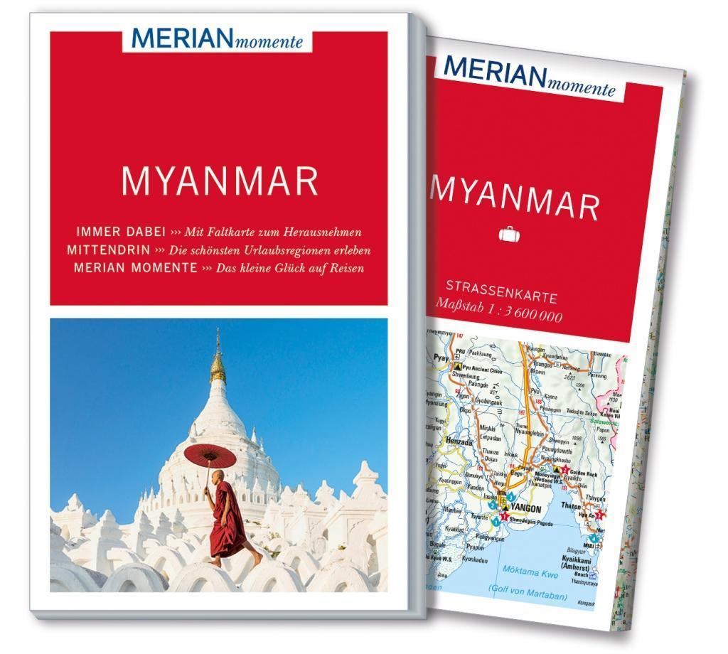 MERIAN momente Reiseführer Myanmar als Buch von...