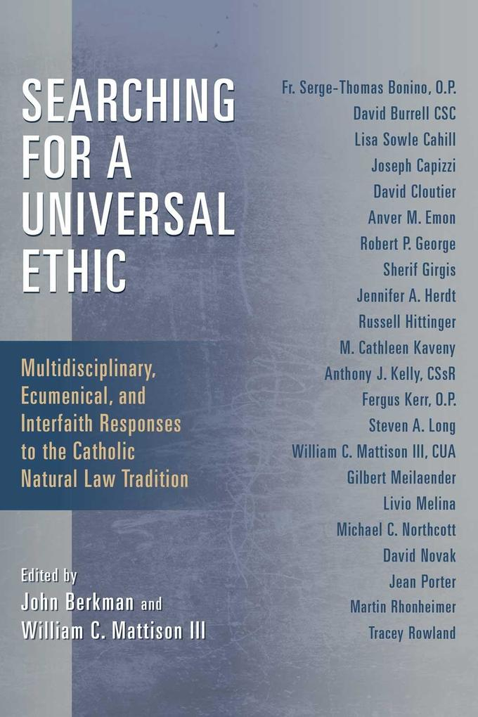Searching for a Universal Ethic als eBook Downl...