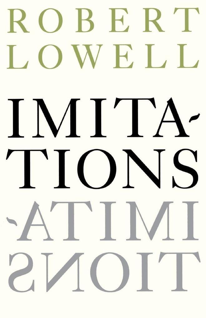 Imitations als Taschenbuch