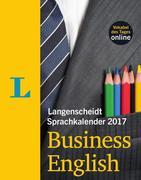 Langenscheidt Sprachkalender 2017 Business English Abreißkalender