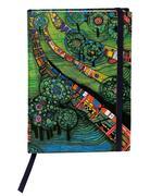 Hundertwasser Notizbuch (Grüne Stadt)