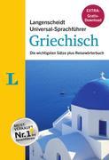 """Langenscheidt Universal-Sprachführer Griechisch - Buch inklusive E-Book zum Thema """"Essen & Trinken"""""""