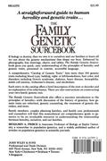 The Family Genetic Sourcebook