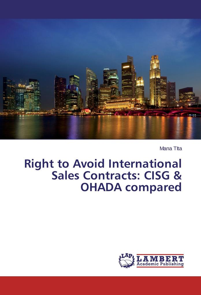 Right to Avoid International Sales Contracts: C...