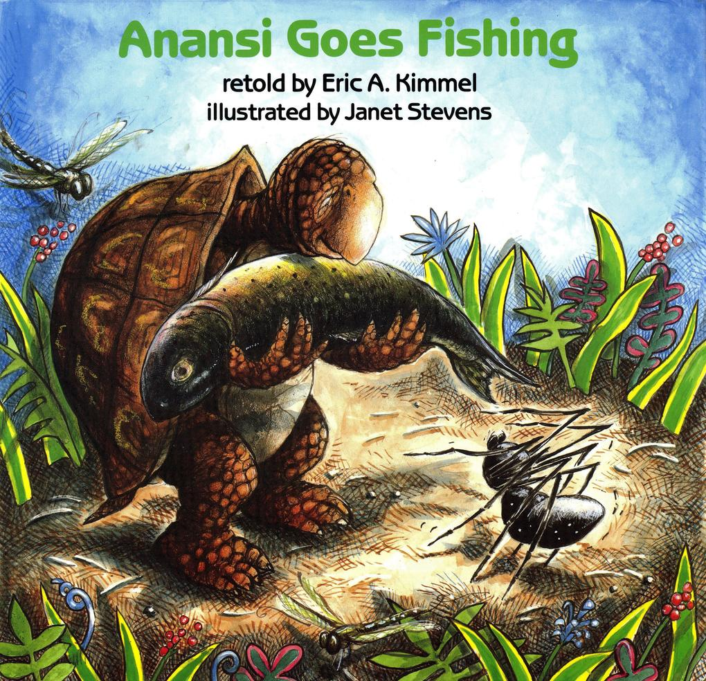 Anansi Goes Fishing als Buch