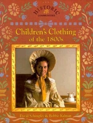 Children's Clothing of the 1800s als Taschenbuch