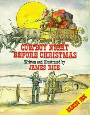 Cowboy Night Before Christmas Coloring Book als Taschenbuch