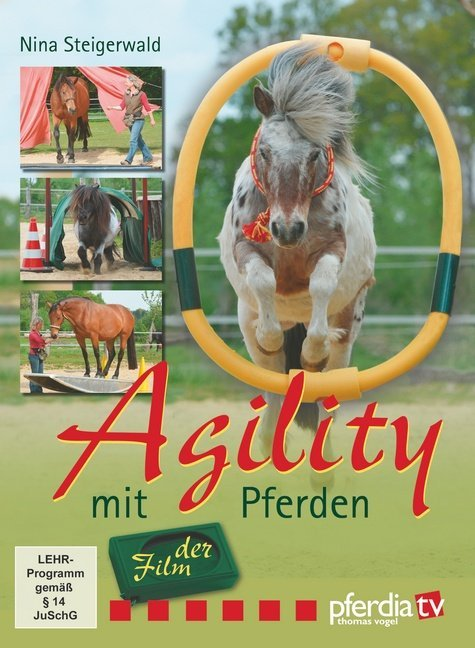 Agility mit Pferden - der Film. DVD-Video