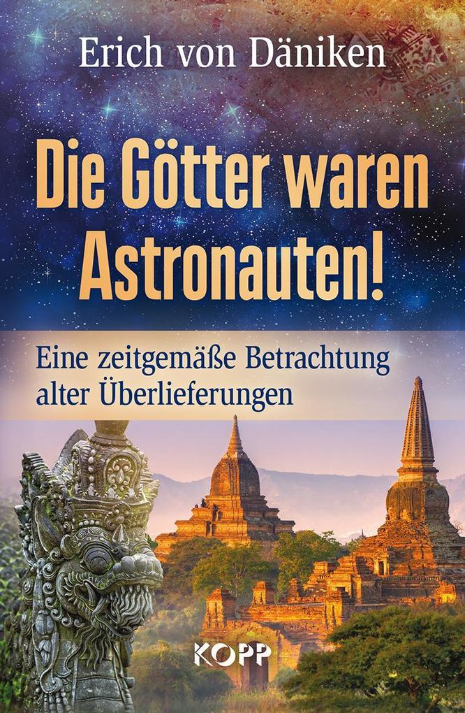 Die Götter waren Astronauten als Buch