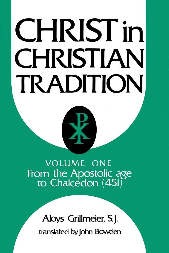 Christ in Christian Tradition als Buch