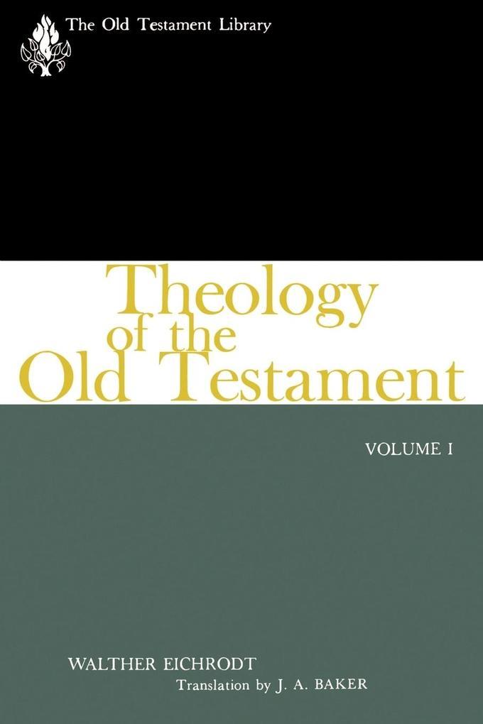 Theology of the Old Testament als Taschenbuch