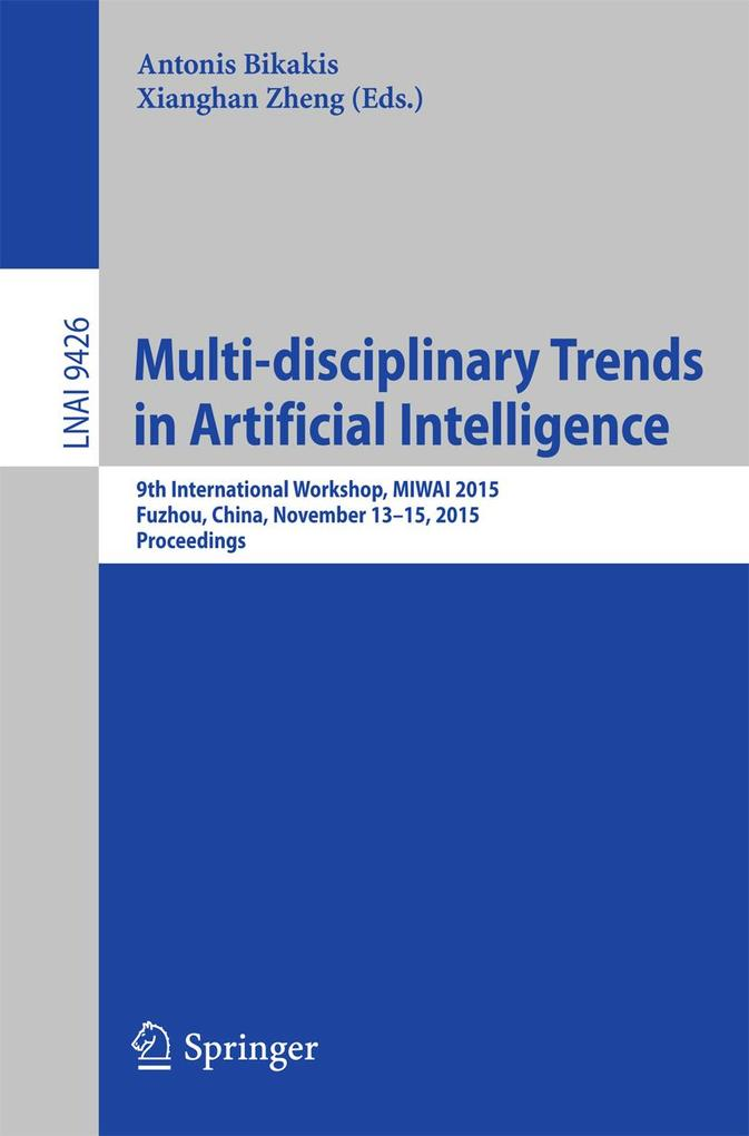Multi-disciplinary Trends in Artificial Intelli...