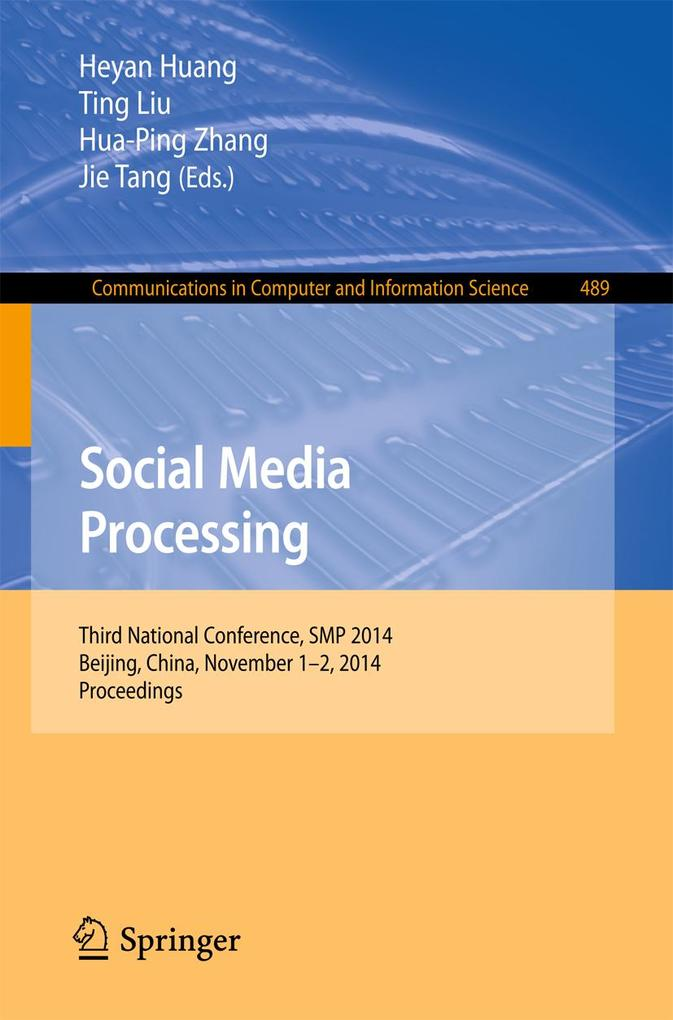 Social Media Processing als eBook Download von