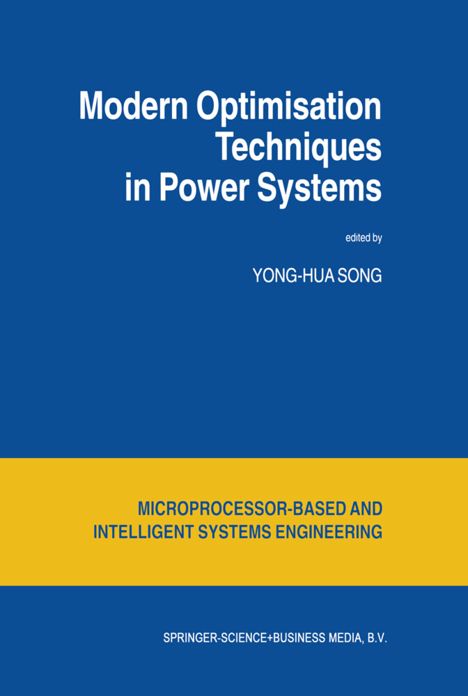 Modern Optimisation Techniques in Power Systems als Buch