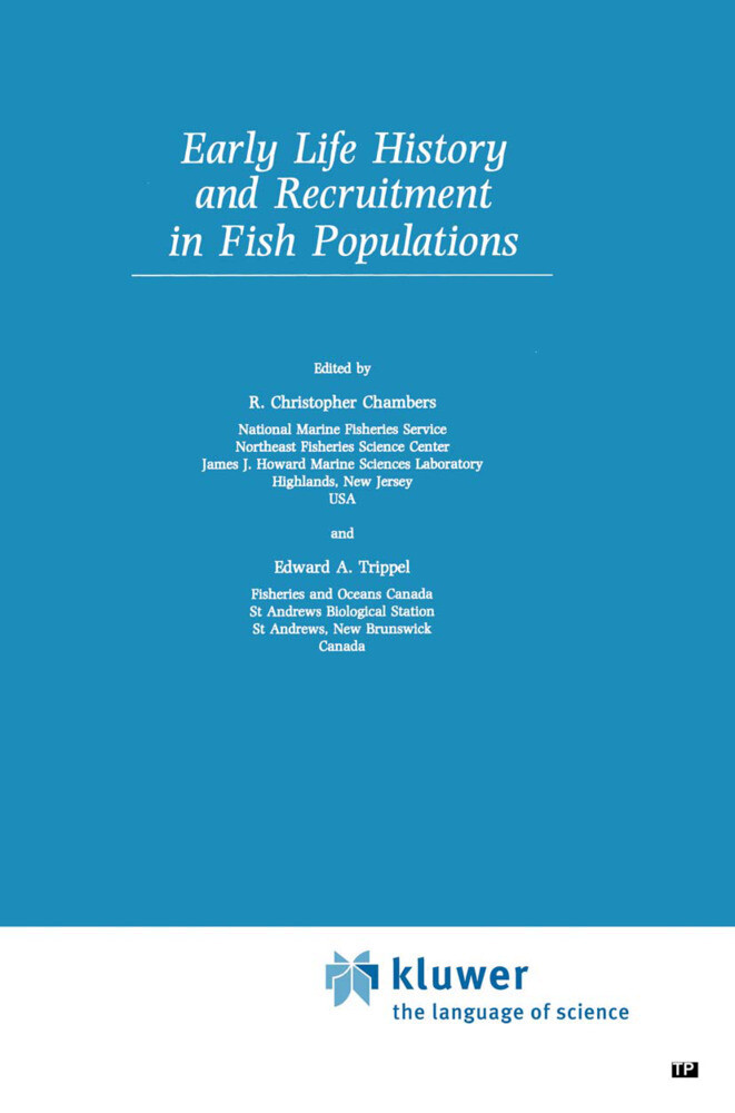 Early Life History and Recruitment in Fish Populations als Buch