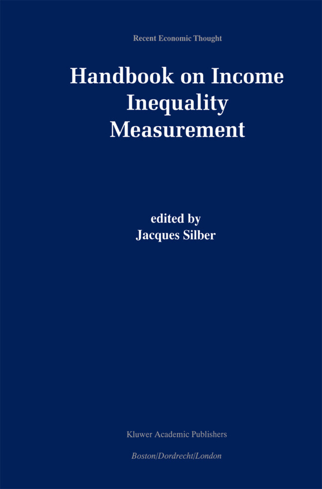 Handbook of Income Inequality Measurement als Buch