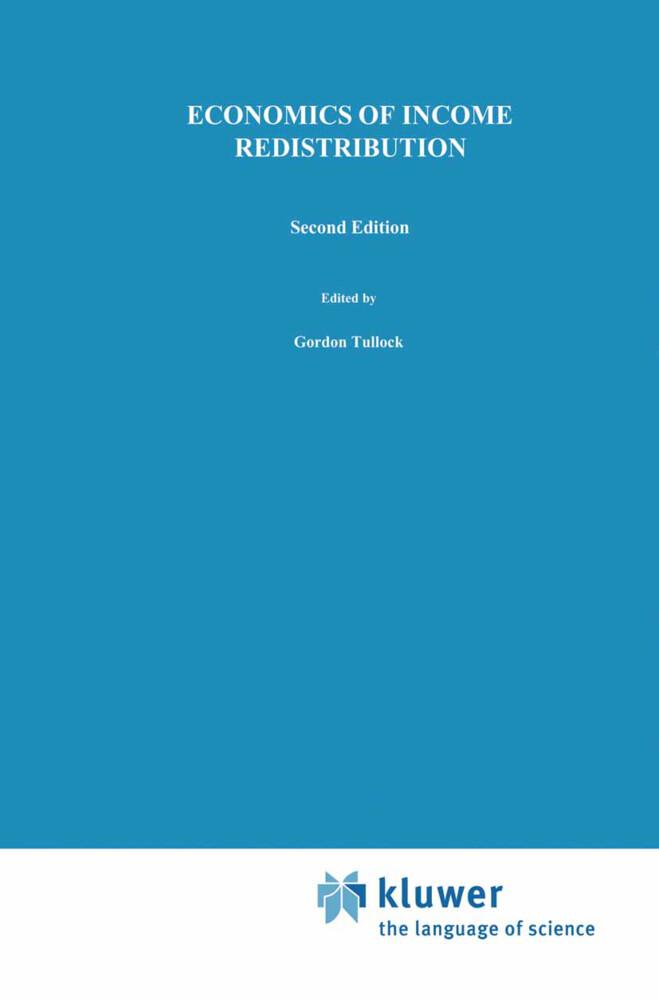 Economics of Income Redistribution als Buch (gebunden)
