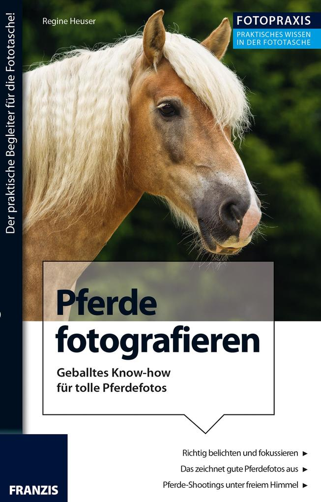 Foto Praxis Pferde fotografieren als eBook Down...