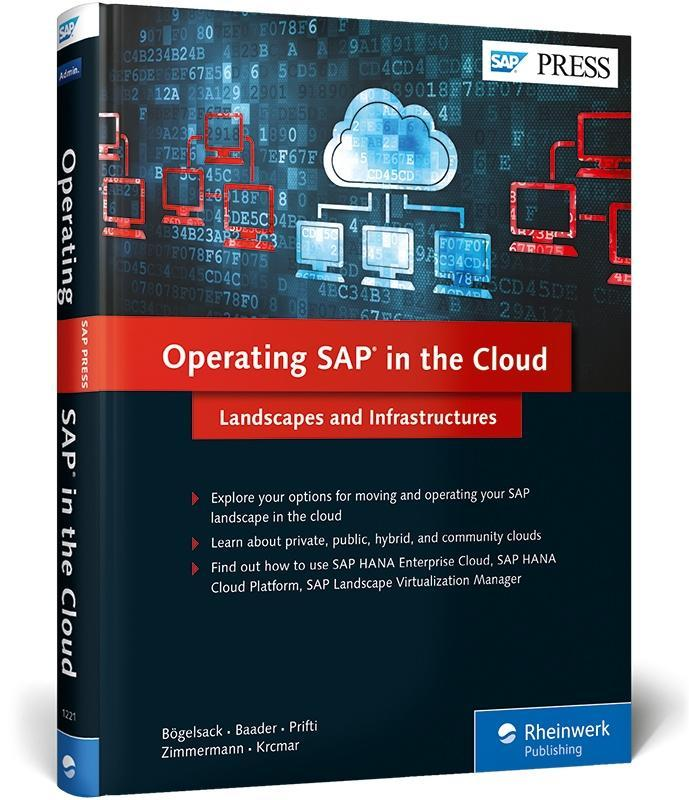 Operating SAP in the Cloud als Buch von André B...