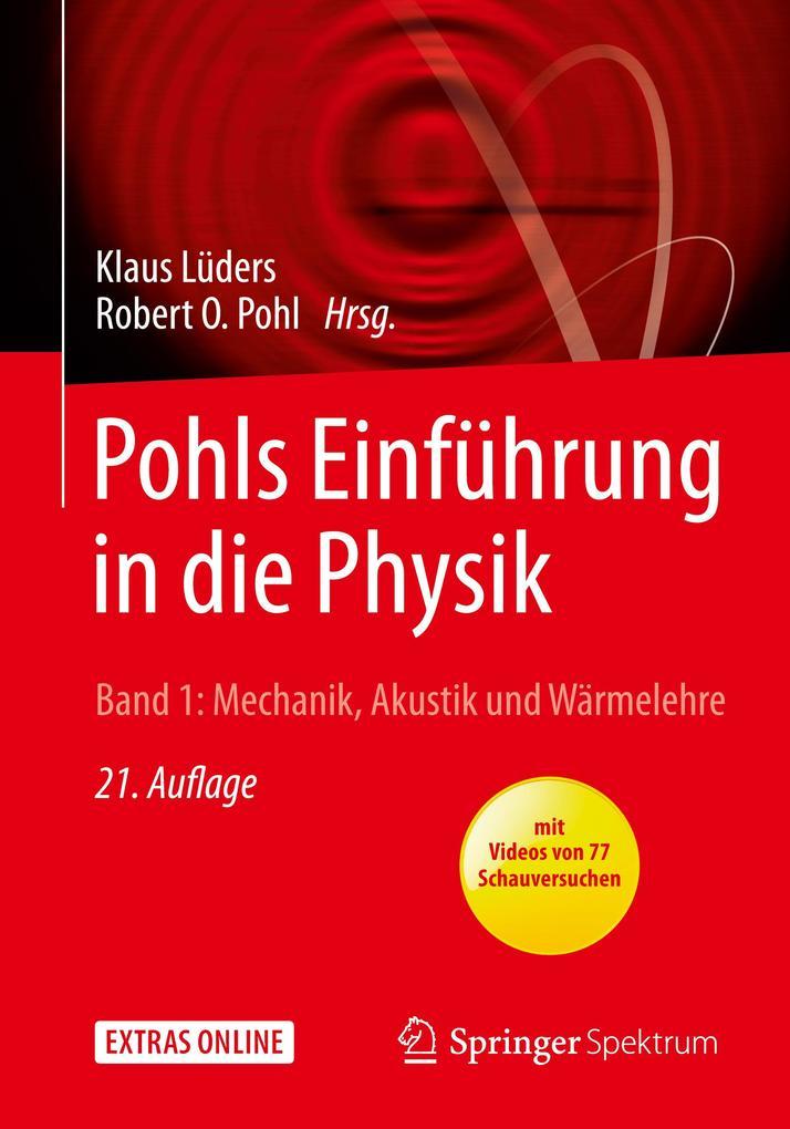 Pohls Einführung in die Physik 01 als Buch von