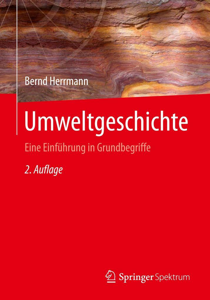 Umweltgeschichte als Buch (kartoniert)