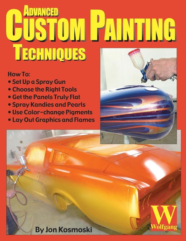 Advanced Custom Painting Techniques als Taschenbuch
