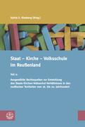 Staat - Kirche - Volksschule im Reußenland
