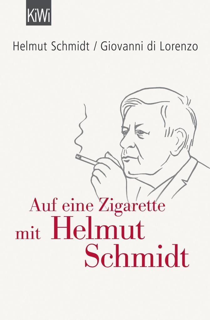 Auf eine Zigarette mit Helmut Schmidt als Taschenbuch