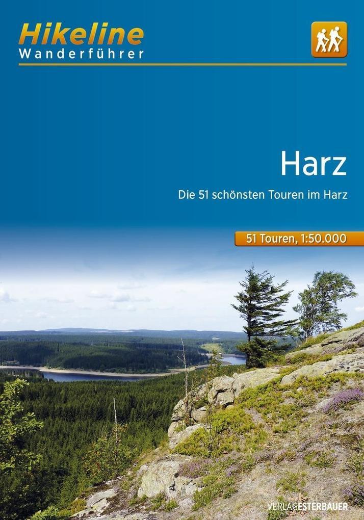 Wanderführer Harz als Buch von