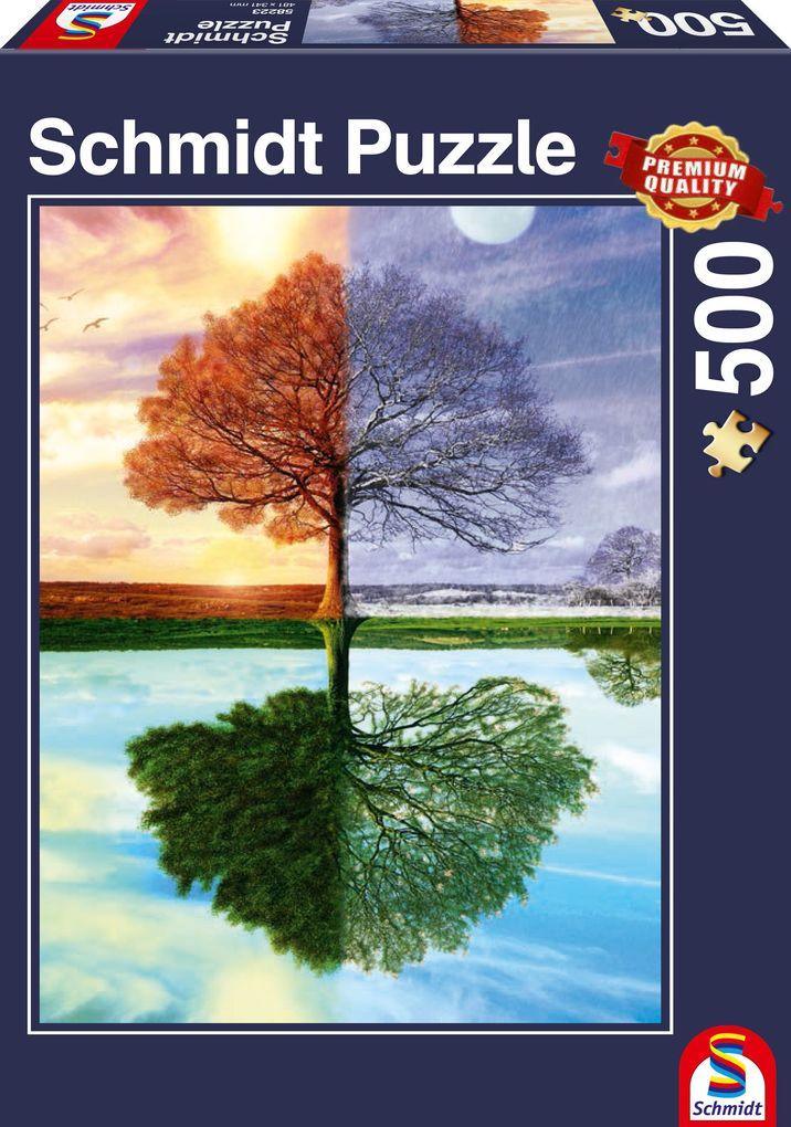 Jahreszeiten-Baum. Puzzle 500 Teile als sonstige Artikel
