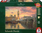 Thomas Kinkade, Abendstimmung in London. Puzzle 1.000 Teile