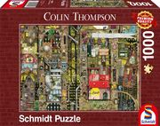 Colin Thompson, Fantastisches Stadtbild. Puzzle 1.000 Teile
