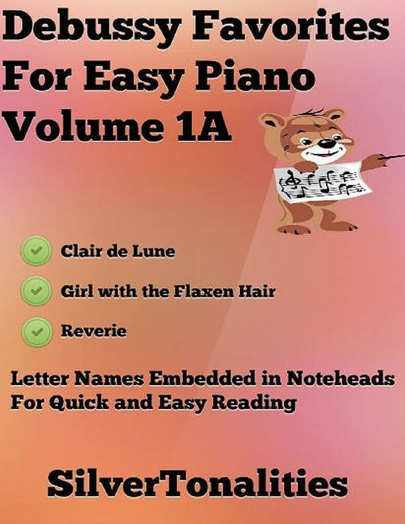 Debussy Favorites for Easy Piano Volume 1 A als...